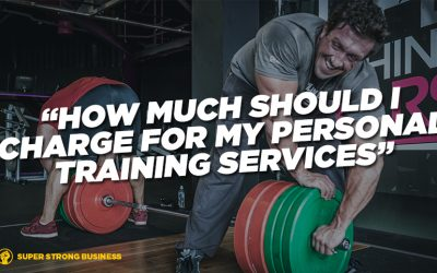 How Much Should I Charge For My Personal Training Services?